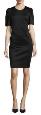 Calvin Klein Short-Sleeve Sheath Dress
