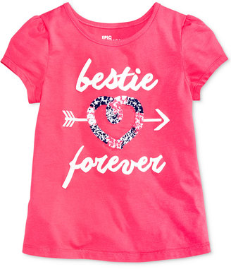 Epic Threads Mix and Match Bestie Forever Graphic T-Shirt, Toddler & Little Girls (2T-6X), Only at Macy's $16 thestylecure.com