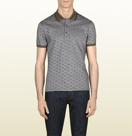Gucci Piqué Short Sleeve Polo