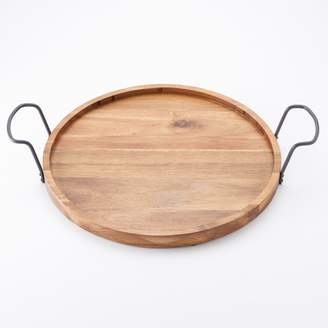 Food Network 14.75-in. Acacia Wood Serving Tray