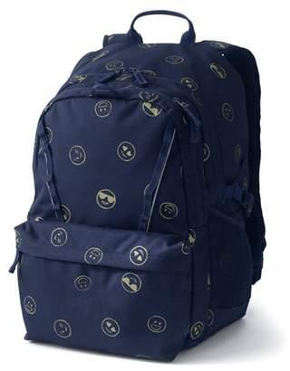 Lands' End - Blue Girls' Print Classmate Large Backpack
