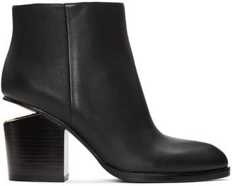 Alexander Wang Black Gabi Boots $675 thestylecure.com