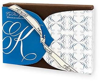Ceci New York K Monogram Boxed Note Card Set