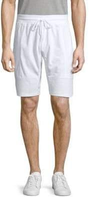 Pique Drawstring Shorts