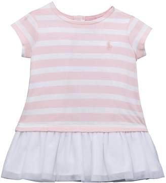 Ralph Lauren Girls Stripe T-Shirt Dress