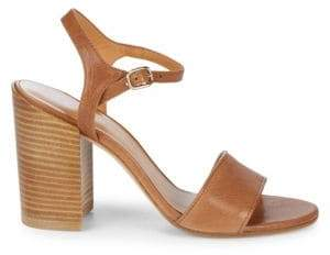 Stuart Weitzman Bothliso Leather Sandals