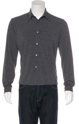 Dolce & Gabbana Knit Button-Up Shirt