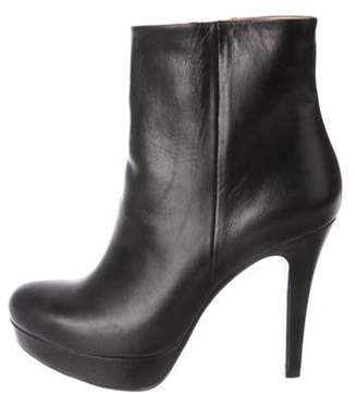 Barneys New York Barney's New York Leather Ankle Boots Black Barney's New York Leather Ankle Boots