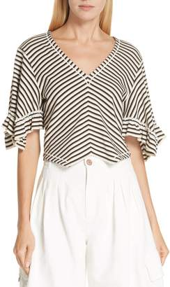 See by Chloe Stripe Top