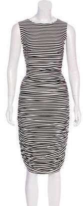 Norma Kamali Kamalikulture x Striped Jersey Skirt Set w/ Tags