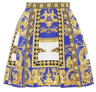 Versace Cotton and silk skirt