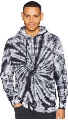 Converse Star Chevron Lightweight Tie-Dye Pullover Hoodie Men's Sweatshirt