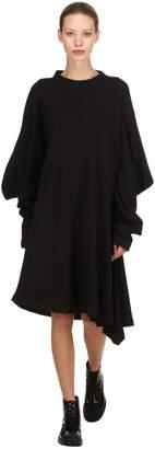 Aalto Asymmetrical Jersey Midi Dress