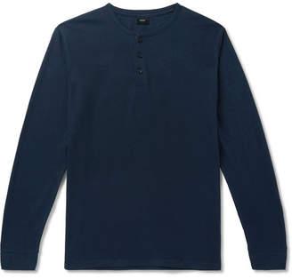 Onia Slub Linen-Blend Henley T-Shirt
