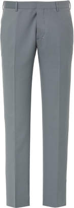 Prada Wool And Mohair Slim-Leg Pants