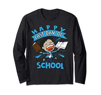 Happy Last Day Of School Shirt   Cute Finishers Tee Gift
