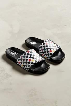 Vans Sport Party Checkerboard Slide Sandal