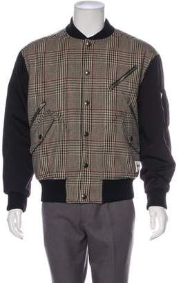 Stella McCartney Wool Bomber Jacket