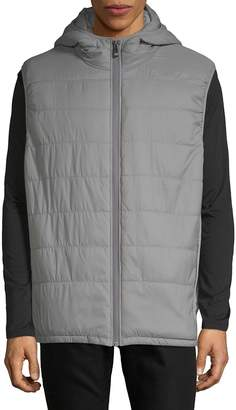 Vince Camuto Men's Quilted Hooded Vest
