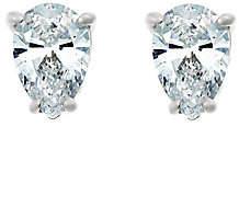 Abercrombie & Fitch Affinity Diamond Jewelry Pear Diamond Stud Earrings, 14K, 1/2cttw,