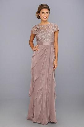 Adrianna Papell - Lace Long Dress 62882090 $548 thestylecure.com