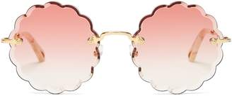 Chloé Rosie round-frame sunglasses