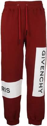 Givenchy Drawstring Color-block Track Pants