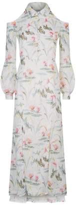 Vilshenko Millie Floral Midi Dress