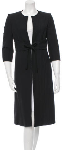 ValentinoValentino Patterned Knee-Length Coat