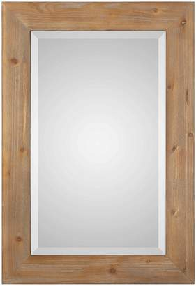 Uttermost Bullock Natural Wood Frame Mirror
