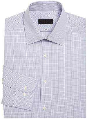 Ike Behar IKE by Men's Checkered Cotton Dress Shirt