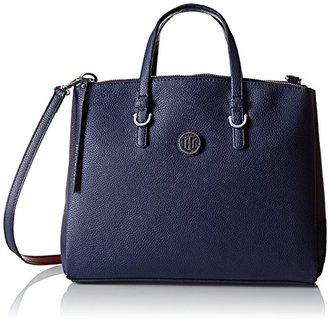 Tommy Hilfiger Mara Shopper Satchel Bag $138 thestylecure.com