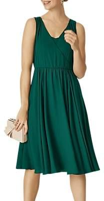Phase Eight Rosa Dress, Emerald