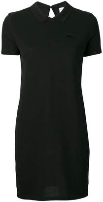Lacoste Live fitted shirt dress