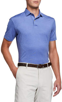 Peter Millar Men's Tour Fit Solid-Stretch Polo Shirt