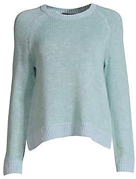 Eileen Fisher Women's Linen-Blend Crewneck Sweater