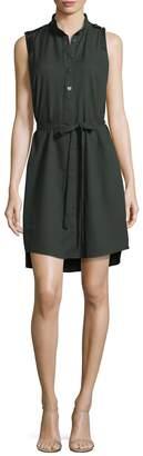 Parker Women's Crewneck Solid Shirtdress