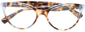 Valentino Eyewear two tone tortoiseshell glasses
