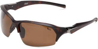 Coleman Windchaser Polarized Shield Sunglasses,Matte Dark Tortise Shell