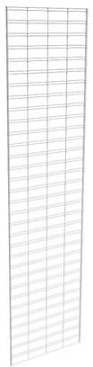 Econoco Metal Slat Grid for Any Retail Display or Home Storage, 2 Width x 8 Height, 3 Grids Per Carton (WHITE)