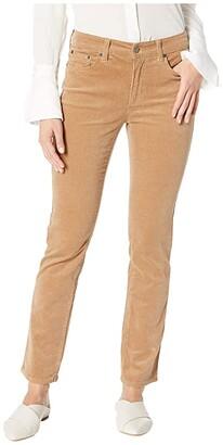 Lauren Ralph Lauren Petite Premier Corduroy Straight Skinny Pants