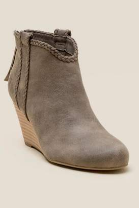 Report Gregorie Wedge Ankle Boot - Olive