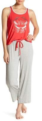 Juicy Couture Pajama Logo Tank Top & Pants 2-Piece Set