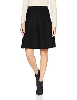 Lark & Ro Women's Flared Sweater Skirt