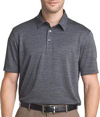 Van Heusen Men's Size Big and Tall Air Birdseye Short Sleeve Polo