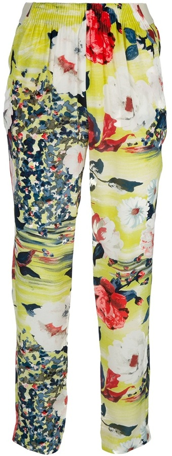 Antonio Marras Floral trouser
