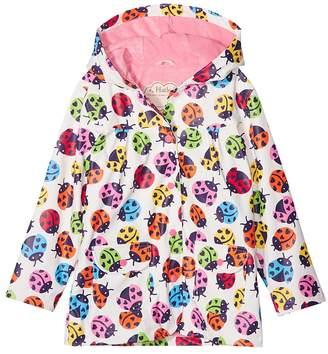 Hatley Rainbow Ladybirds Classic Raincoat Girl's Coat