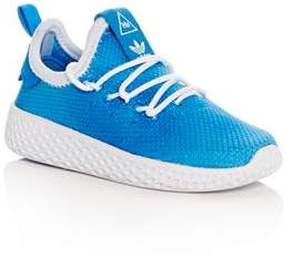 adidas Unisex Pharrell Williams Hu Lace Up Sneakers - Walker, Toddler