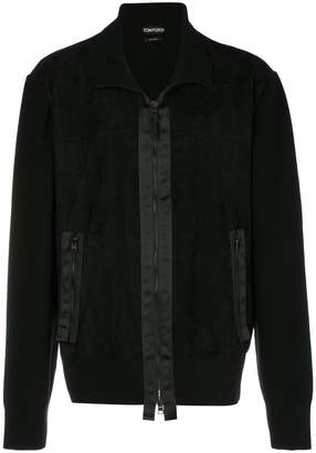Tom Ford contrast trim jacket