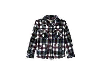 Appaman Kids Extra Soft Flannel Snow Fleece Shirt (Toddler/Little Kids/Big Kids)
